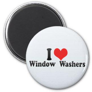 I Liebe-Fenster-Waschmaschinen Kühlschrankmagnet