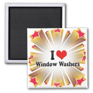 I Liebe-Fenster-Waschmaschinen Magnete