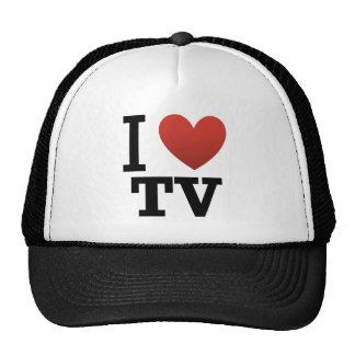 I Liebe Fernsehen Retrokappe