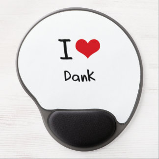 I Liebe feucht Gel Mouse Pads