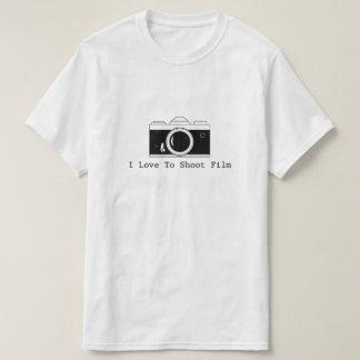 I Liebe, Film zu schießen T-Shirt