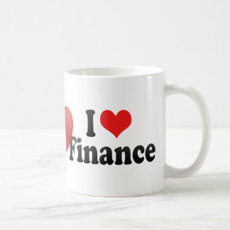 I Liebe-Finanzierung Kaffeetasse