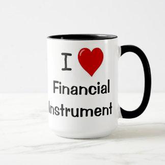 I Liebe-Finanzierungsinstrumentarium-unhöfliche Tasse
