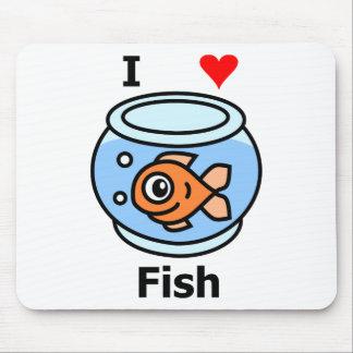 I Liebe-Fische Mauspads
