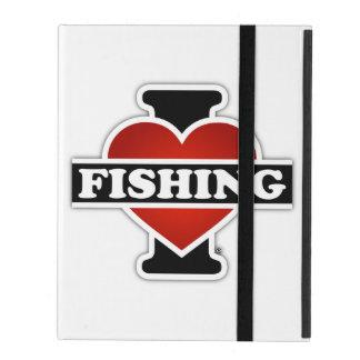 I Liebe-Fischerei Hülle Fürs iPad