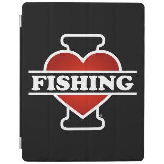 I Liebe-Fischerei iPad Hülle