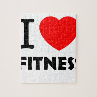 I Liebe-Fitness Puzzle
