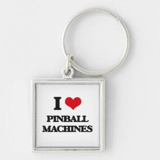 I Liebe-Flipperautomat-Maschinen Schlüsselanhänger