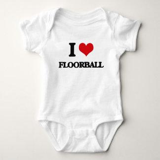 I Liebe Floorball Baby Strampler