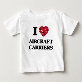 I Liebe-Flugzeugträger Hemd