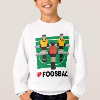 I Liebe Foosball Sweatshirt