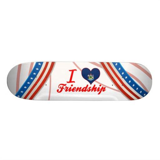 I Liebe-Freundschaft, Maine Skateboarddecks