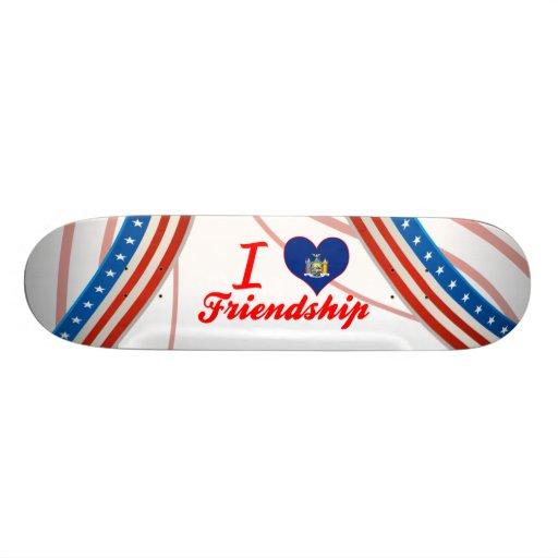 I Liebe-Freundschaft, New York Personalisierte Skatedecks