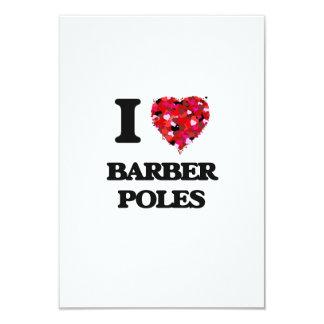 I Liebe-Friseur Polen 8,9 X 12,7 Cm Einladungskarte