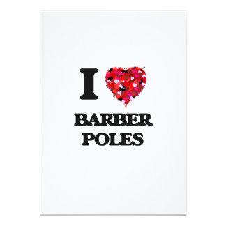 I Liebe-Friseur Polen 12,7 X 17,8 Cm Einladungskarte