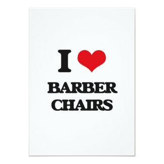 I Liebe-Friseur-Stühle Personalisierte Einladungskarten