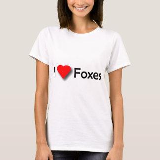 I Liebe-Füchse T-Shirt