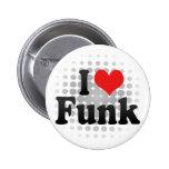 I Liebe-Funk Anstecknadel