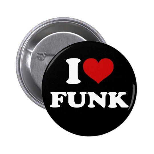 I Liebe-Funk Runder Button 5,7 Cm
