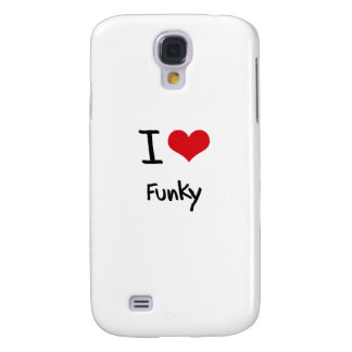 I Liebe Funky Galaxy S4 Hülle