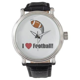 I Liebe-Fußball! Armbanduhr