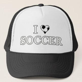 I Liebe-Fußball Truckerkappe
