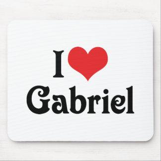 I Liebe Gabriel Mousepad