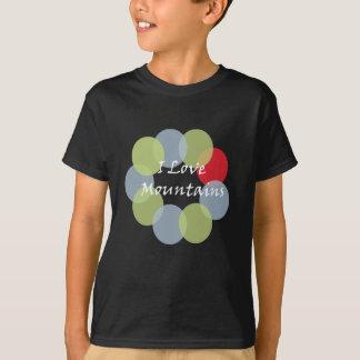 I Liebe-Gebirgst-shirt T-Shirt