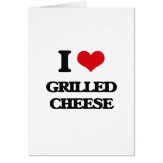 I Liebe gegrillter Käse Karten