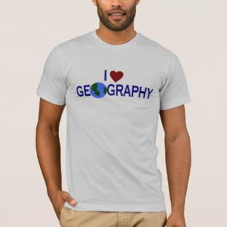 I Liebe-Geografie T-Shirt