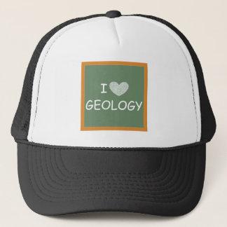 I Liebe-Geologie Truckerkappe