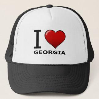 I LIEBE GEORGIA TRUCKERKAPPE