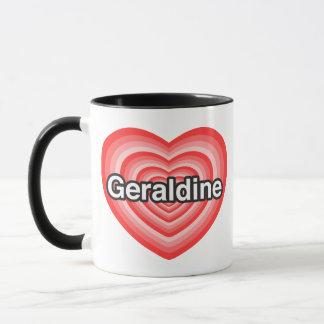 I Liebe Geraldine. Liebe I Sie Geraldine. Herz Tasse