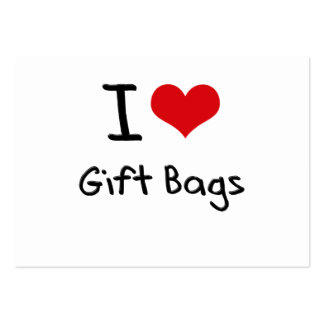 I Liebe-Geschenk-Taschen Mini-Visitenkarten