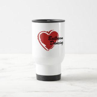 I Liebe-Gesellschaftstänze-Reise-Tasse Reisebecher