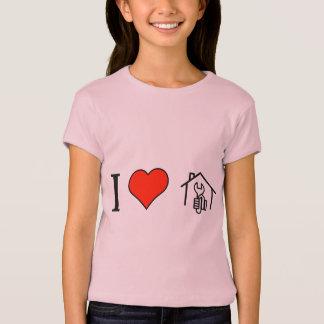 I Liebe-Gestalt auf Ihren Selbst T-Shirt