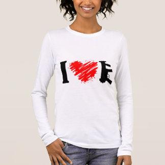 I Liebe-Gewehre Langarm T-Shirt