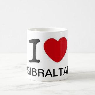 I Liebe-Gibraltar-Tasse Kaffeetasse