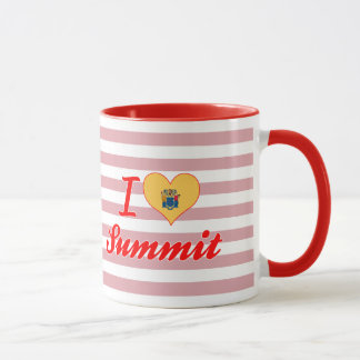 I Liebe-Gipfel, New-Jersey Tasse