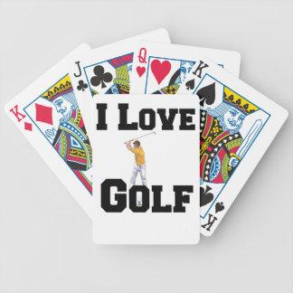 I Liebe-Golf 01 Bicycle Spielkarten