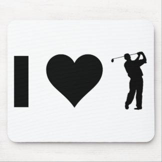 I Liebe-Golf Mousepad