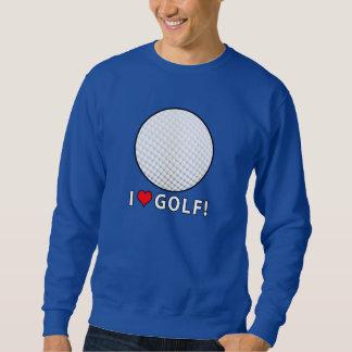 I Liebe-Golf! Sweatshirt