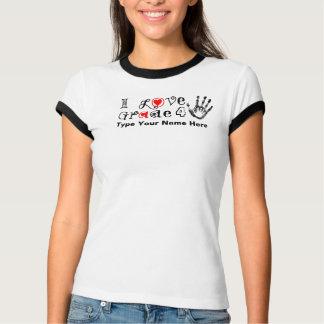 I Liebe-Grad _/Lehrer-Touch morgen heute T-Shirt