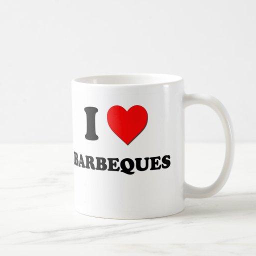 I Liebe-Grills Kaffeetassen