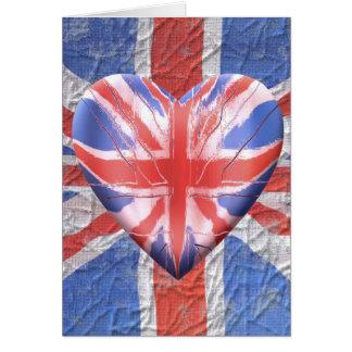 I Liebe Großbritannien! Karte