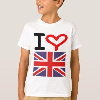 I Liebe Großbritannien T-Shirt