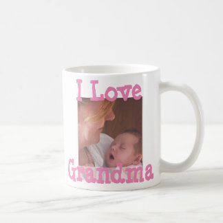 I Liebe-Großmutter-personalisierte Kaffee-Tasse Kaffeetasse