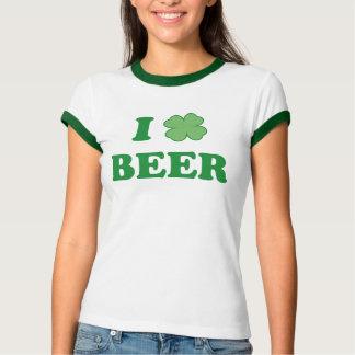 I Liebe-grünes Bier T-Shirt