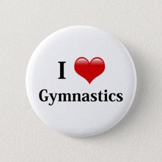 I Liebe-Gymnastik Runder Button 5,1 Cm