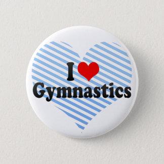 I Liebe-Gymnastik Runder Button 5,7 Cm